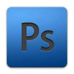 Black Photoshop Logo On Blue Square Icon, PNG ClipArt ...
