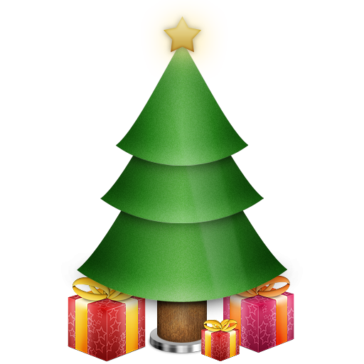 Christmas Tree With Gifts Icon, PNG ClipArt Image | IconBug.com