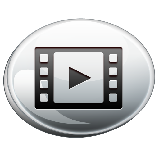 Video Silver Icon Png Clipart Image Iconbug Com