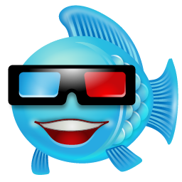 Fish With 3d Glasses Icon Png Clipart Image Iconbug Com