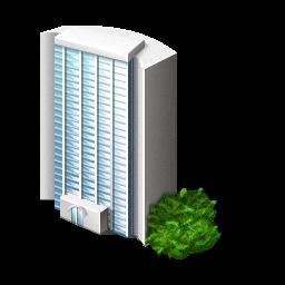 Skyscraper Icon PNG ClipArt Image