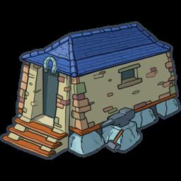 stone house icon png clipart image iconbugcom