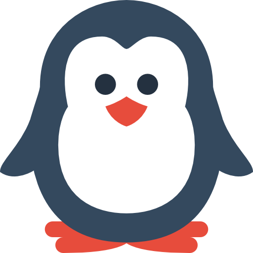 Simple Christmas Penguin Icon, PNG ClipArt Image | IconBug.com