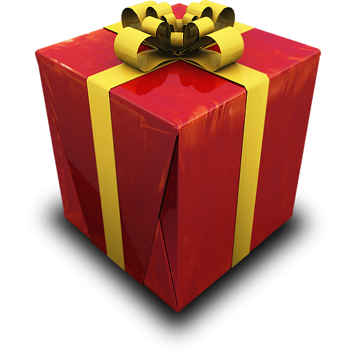 Gift Box Icon Red : Christmas gift red icon png clipart image iconbug