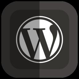Folded Social Wordpress Icon Png Clipart Image Iconbug Com