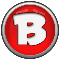 Red Letter B Icon Png Clipart Image Iconbug Com