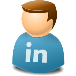 Social Person Linkedin Icon Png Clipart Image Iconbug Com