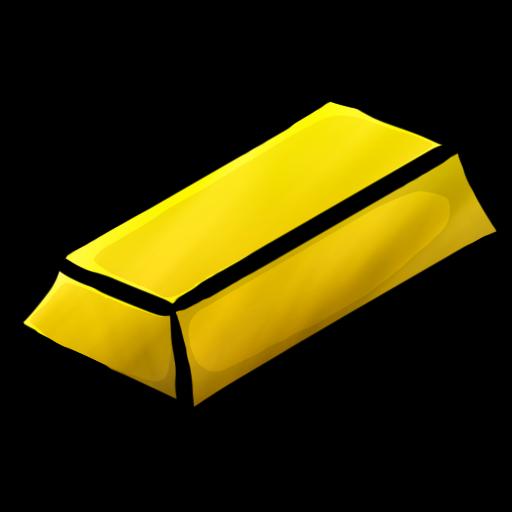 Minecraft Gold Ingot Icon Png Clipart Image Iconbug Com