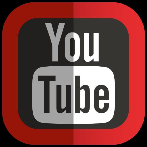 Folded Social YouTube Icon, PNG ClipArt Image   IconBug.com