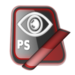 Brown Photoshop With Eye Icon Png Clipart Image Iconbug Com