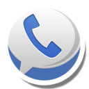Round Sticker Google Voice Icon Png Clipart Image Iconbug Com