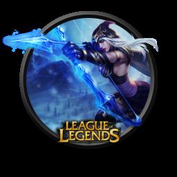 League Of Legends Ashe Icon Png Clipart Image Iconbug Com