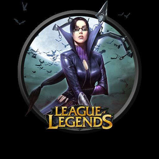 League Of Legends Vayne Icon, PNG ClipArt Image   IconBug.com