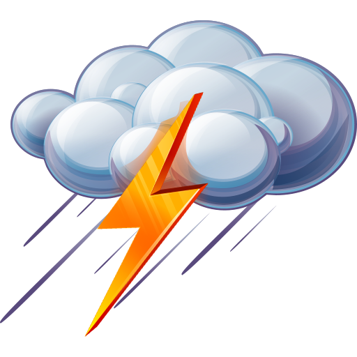 Rain thunder. And icon png clipart