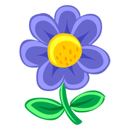 Blue flower drawing icon png clipart image iconbug format png thecheapjerseys Choice Image