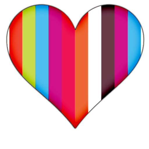 Heart With Bold Vertical Lines Icon, PNG ClipArt Image | IconBug.com