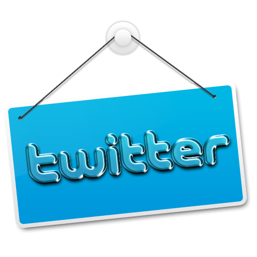 Twitter Hanging Sign Icon, PNG ClipArt Image | IconBug.com