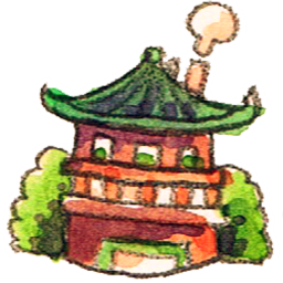 Japanese Home Crayon Icon Png Clipart Image Iconbug Com
