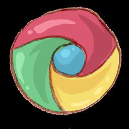 Google Chrome Watercolor Icon Png Clipart Image Iconbug Com