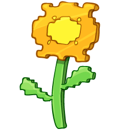 Yellow flower drawing icon png clipart image iconbug format png mightylinksfo