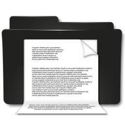 Documents Black Folder Icon Png Clipart Image Iconbug Com