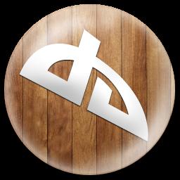 Wooden Button Deviantart Icon Png Clipart Image Iconbug Com