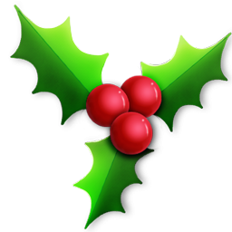 Christmas Holly Png.Christmas Holly Icon Png Clipart Image Iconbug Com