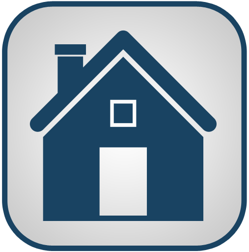 Blue And White Home Icon, PNG ClipArt Image | IconBug.com