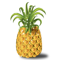 Sparkling Pineapple Icon, PNG ClipArt Image | IconBug.com: iconbug.com/detail/icon/7069/sparkling-pineapple