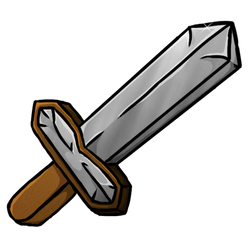 minecraft iron sword icon  png clipart image iconbug com monster clipart head monster clipart f