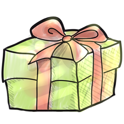 Christmas Gift Drawing Icon PNG ClipArt Image