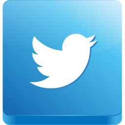 3D Tile Twitter Bird Icon, PNG ClipArt Image | IconBug.com