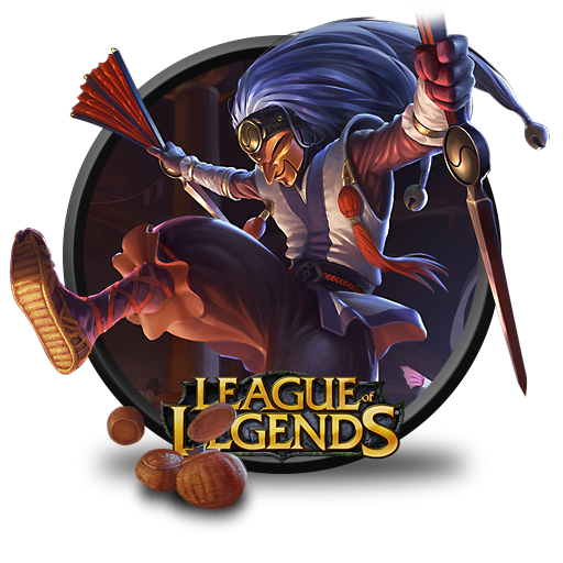 League Of Legends Shaco Masked Icon Png Clipart Image