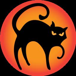 Black Cat Icon Png Clipart Image Iconbug Com