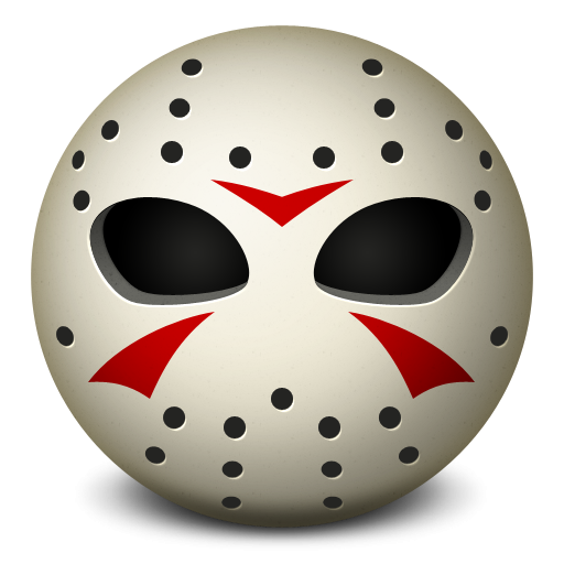 Jason Hockey Mask Icon, PNG ClipArt Image | IconBug.com