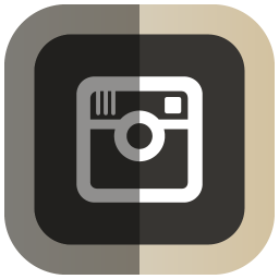 Folded Social Instagram Icon Png Clipart Image Iconbug Com