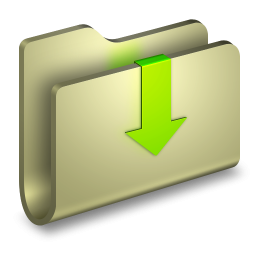 3d Folder Downloads Yellow Icon Png Clipart Image Iconbug Com