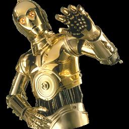 Star wars clone wars bedding - Star Wars C3po Icon Png Clipart Image Iconbug Com