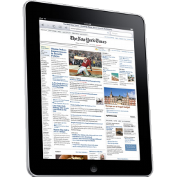 Apple IPad Newspaper Icon PNG ClipArt Image