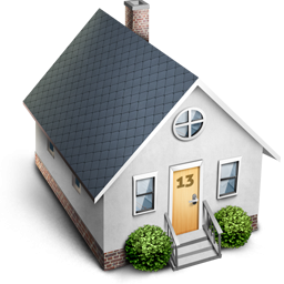 little house icon png clipart image