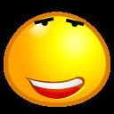 Image Gallery relieved emoticon