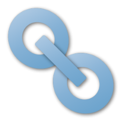 Powder Blue Link Icon Png Clipart Image Iconbug Com