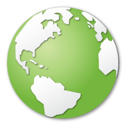 Green Earth Icon Png Clipart Image Iconbug Com