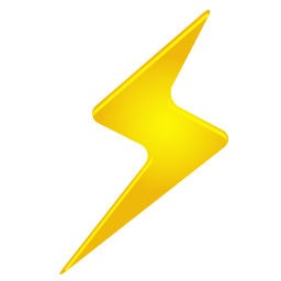 Lightning Bolt Icon Png Clipart Image Iconbug Com