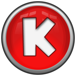 Red Letter K Icon Png Clipart Image Iconbug Com