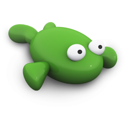 Green Frog Icon Png Clipart Image Iconbug Com