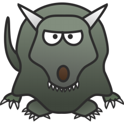 Scary Dragon Icon Png Clipart Image Iconbug Com