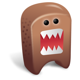 Cute Brown Monster Icon Png Clipart Image Iconbug Com