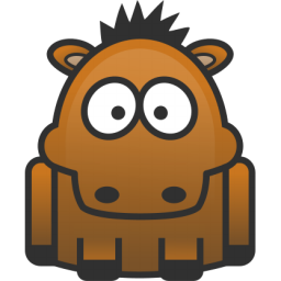 Brown Horse Icon Png Clipart Image Iconbug Com