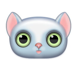 Kitten Face Icon Png Clipart Image Iconbug Com
